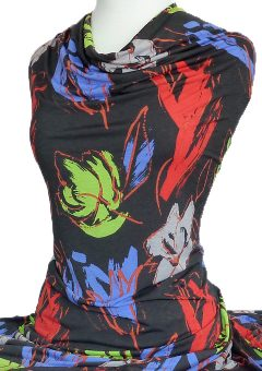 Jackson-Printed-Knit-Red-Green-on-Black