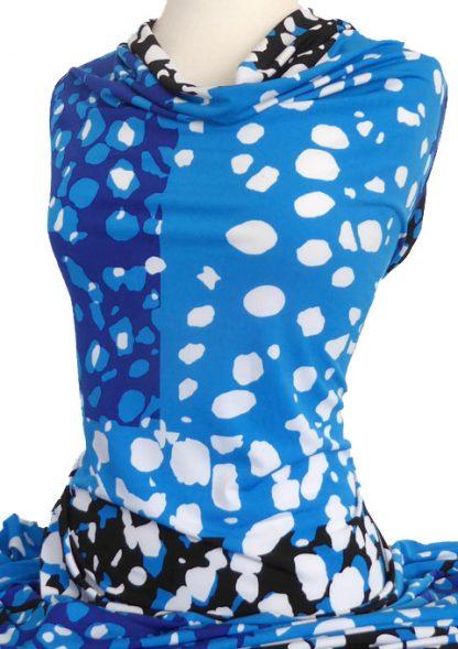 Knitwit-Printed-Jersey-Knit-Motion-Blue-Black