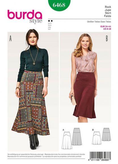 Burda-Style-6468-Skirt