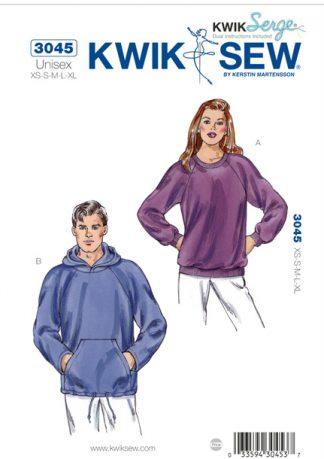Kwik-Sew-Sweatshirts-Pattern-3045
