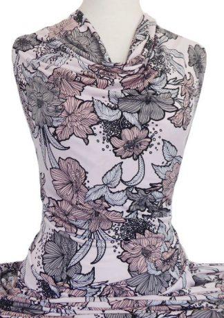 Printed Jersey Knit Lucinda