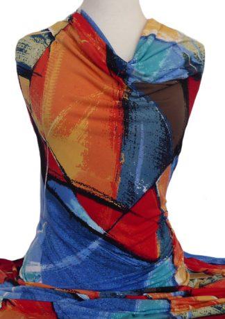 Printed Jersey Knit Stella Brights