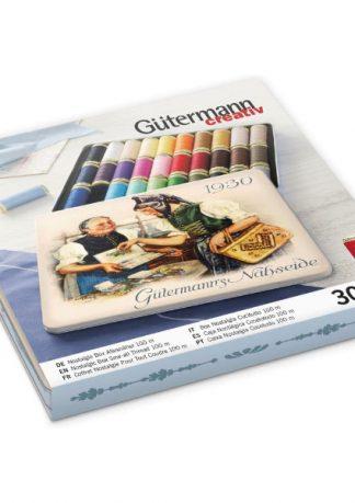Gutermann Nostalgia Tin 30