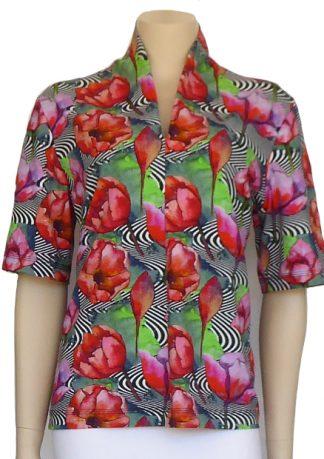 Kwik Sew Pattern 3658 - Knitwit Printed Cotton Jersey Venture