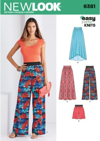 Patterns for Knit Fabrics
