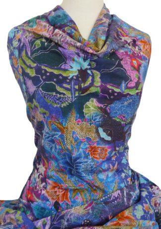 Knitwit Printed Cotton Jersey Knit Cordoba