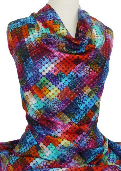 Knitwit Printed Cotton Jersey Knit New York
