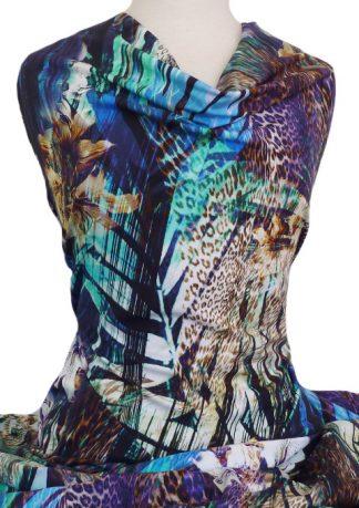 Knitwit Printed Cotton Jersey Knit Mandalay
