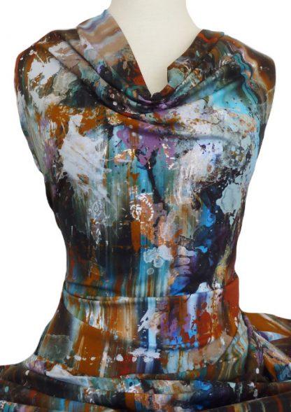 Knitwit Printed Cotton Jersey Knit Studio Splash