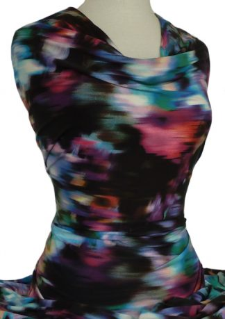 Printed Jersey Knit Imagination Multicolour