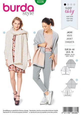 Burda Style Pattern 6336