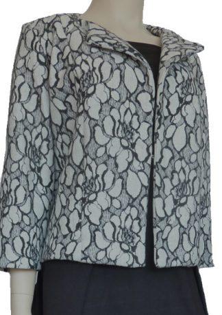 New Look Pattern 6351 - Vivienne Bonded Knit Grey
