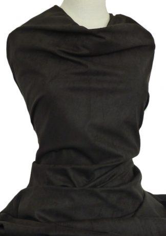 Suedette Knit Black