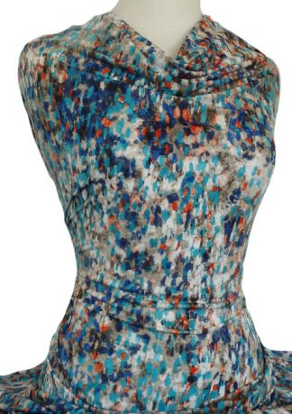 Printed Dry Handle Jersey Knit Reflection Multicolour