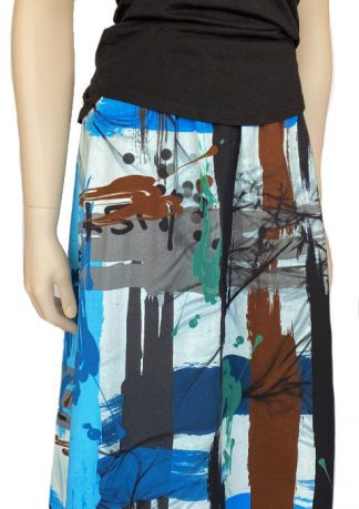 New Look 6626 Sardinia Blue Brown Cotton Knit